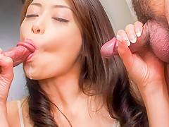 Fabulous Japanese chick Maki Hojo in Incredible JAV uncensored MILFs video
