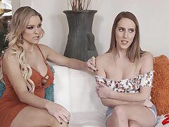 Horny friends Kenzie Taylor and Diacritic Lux decide relating to have homoerotic sex