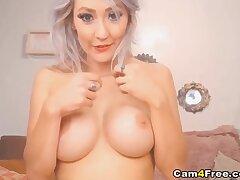 Grown up Slut Ramming Her Wet Pussy