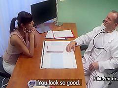 Tanned milf fuck doctor in hospital
