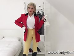 JOI tease from Lady Sonia in her riding outfit