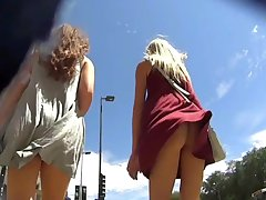The best of the wind - upskirts, blown skirts etc