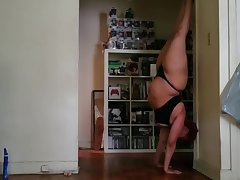 5.23.19 Yoga Practice clouded lingerie