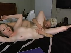 Wifey MILF With Hot Girlfriend