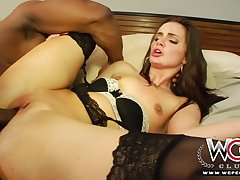 Wcpclub Diminutive Girl Squirting Above A Big Cock  - Lily Carter