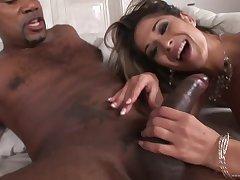 Hot babe Tomina Steel - sodomy interracial porn video