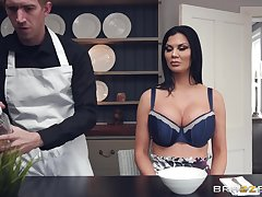 facial coupled with cum in mouth are goods become absent-minded Jasmine Jae adores to carry through