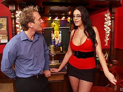 After oral sexual intercourse Emma Breech is on the very point of take a friend's firm pecker
