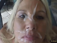 Handjob Giving Head Facial be worthwhile for a Dirty Talking Mature