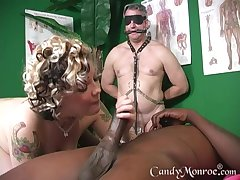 As a substitute for of massage horny psychotherapist enjoys Candy Monroe's pussy