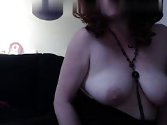 Webcam skype and aged mature woman masturbate
