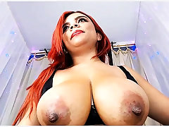 Redhead MILF consequential good solo