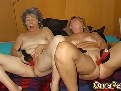 OmaPasS Amateur Old Granny Porn Solo Fun Photograph