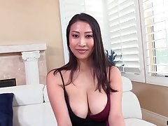 Asian MILF exotic France Sharon Lee is into riding sloppy weasel words on top