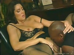 Magnificent porn sweetheart Tasha Hunter gets banged at hand a hot cumshot