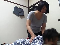 Sensual Japanese massage takes a turn so as to approach the X side
