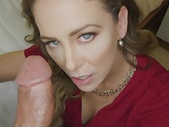 Cherie Deville gets creampied and stuffed more big penis