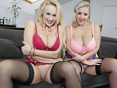 Angel Wicky & Krystal Swift in Weapons Of Mass Sweet talk - StockingsVR