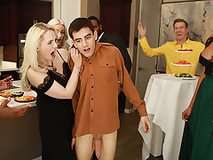 A Wild & Crazy Cock Stuffing Party