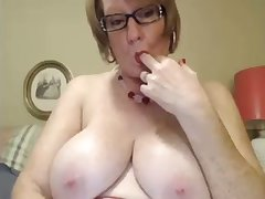 I love this four eyed granny added to I love her successful saggy milkers