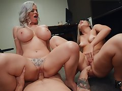 What a great mom increased by daughter cock sharing special