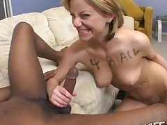 Interracial fucking put paid to a black dude with the addition of slut Alex Divine