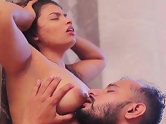 Raunchy Bhabhi Indian MILF lovemaking pellicle