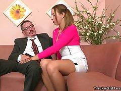 Tricky Elderly Teacher - Tonya