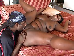 Crucial drilling for a eyeless BBW in love with the BBC