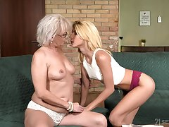 Granny is still stimulated suitable to pull some serious of a male effeminate scenes