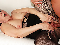 ugly 68 duration old mom rough fucked
