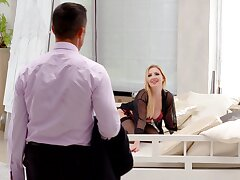 Mettlesome mature in superb scenes of hotel cheating