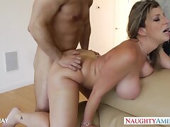 Awesome hot busty and bootyful MILFie wife Sara Clodpole loves fucking doggy