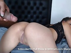 PAWG Teenager Takes Nasty BBC Creampie In Her Cunt and Exasperation