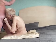 Spectacular thankful experienced grannie